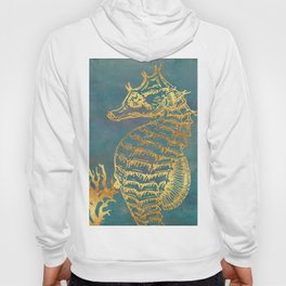 Deep Sea Life Seahorse Hoody