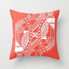 Creativity Is King Throw Pillow