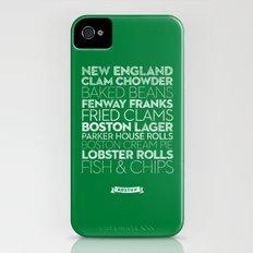 Boston — Delicious City Prints iPhone (4, 4s) Slim Case
