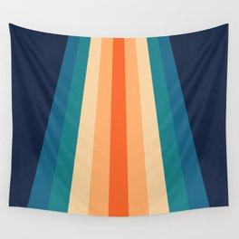 Retro Classic 70's Stripes Wall Tapestry