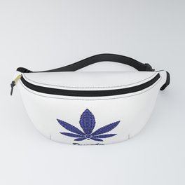 Birthstoned Leaf of Month, December Tanzanite Fanny Pack