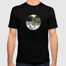A Hole New World  Black MEDIUM Mens Fitted Tee