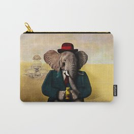 Mr. Preston J. Pachyderm visits the Sphinx Carry-All Pouch