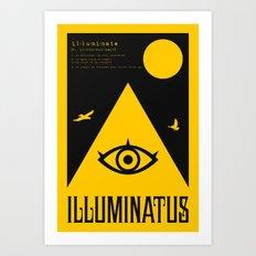 Illuminatus Art Print