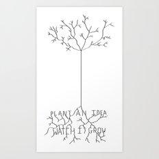 Idea Tree Art Print