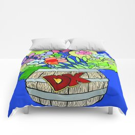 Donkey Kong Floral Comforters