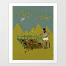 FIELD OF IDEAS Art Print
