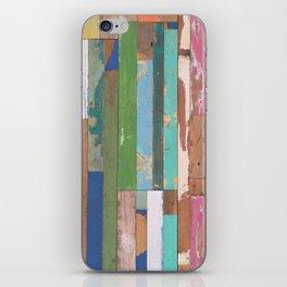 Maui Fence Hawaii Colorful Art iPhone Skin