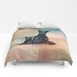 Dobermann - Doberman Pinscher Comforters
