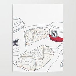 Pret A Manger in London Poster