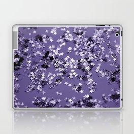 Ultra Violet Glitter Stars #1 #shiny #decor #art #society6 Laptop & iPad Skin