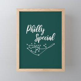 Philly Special Framed Mini Art Print