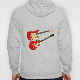 Red Elecric Guitars Hoody