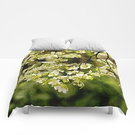 Painted Dogwoods Comforters