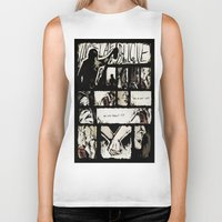 grantaire Biker Tanks featuring Do you permit it? by 23242322