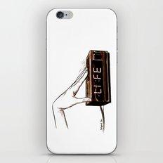 Life on snooz iPhone & iPod Skin