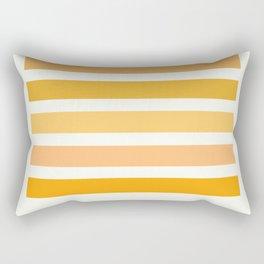 Halloween Colors Art Print Rectangular Pillow