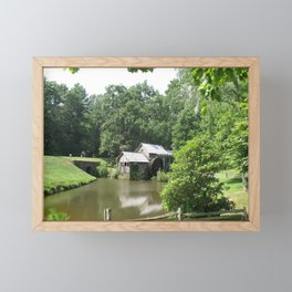 Picturesque Marby Mill Framed Mini Art Print
