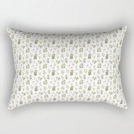 The Tea Plants Rectangular Pillow