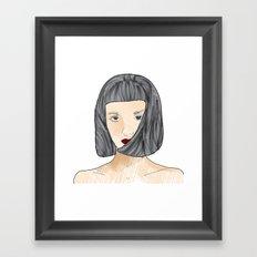face II Framed Art Print