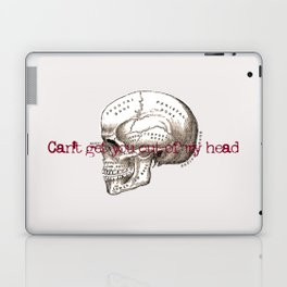 Can't get you out of my head vintage illustration Laptop & iPad Skin