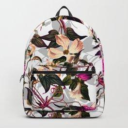 Romantic flower garden Backpack