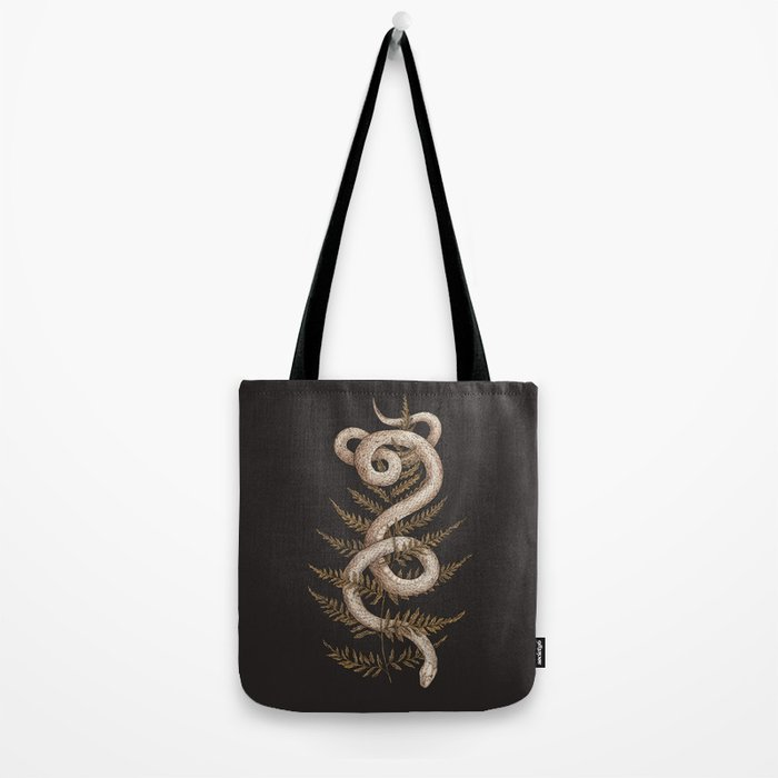 The Snake and Fern Tote Bag