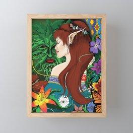 Fae Folk Framed Mini Art Print