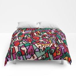 Jammin' Good (Berry) Comforters