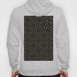 Abstract black and gold design Hoody
