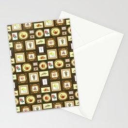 FRAMED FLORAL ART Stationery Cards