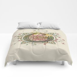 Celtic Initial O Comforters