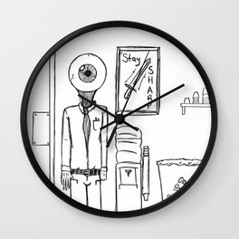 N(i)ne to Five Wall Clock