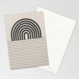 Rainbow and Ocean Balance Stationery Cards