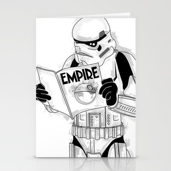 Stormtrooper Empire  Stationery Cards