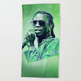 Young Thug Beach Towel