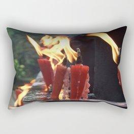 Pray brightly Rectangular Pillow