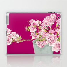 Heavenly Blossom on Pink Laptop & iPad Skin