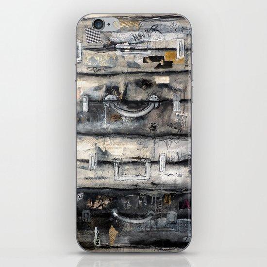 vieille valise iPhone & iPod Skin