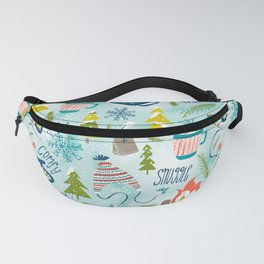 Snow Day Hooray! Fanny Pack