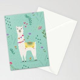 Festive Llama Stationery Cards