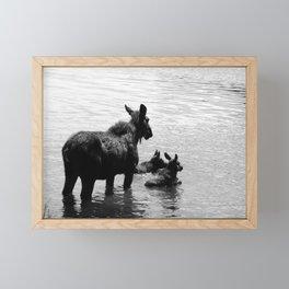 A Protective Mom Framed Mini Art Print