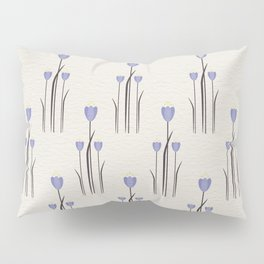 Minimal Bluebells Pillow Sham