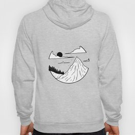 Paysage rond 1 Hoody