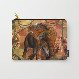 Steampunk, steampunk elephant Carry-All Pouch