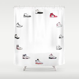 air jordan shower curtains for any