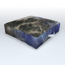 Space Exploration Outdoor Floor Cushion