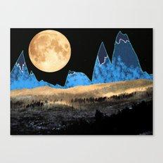 Macaroni Moon Canvas Print