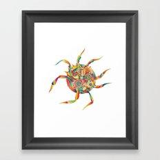Spiderdream Framed Art Print