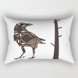 Totemic Crow Rectangular Pillow
